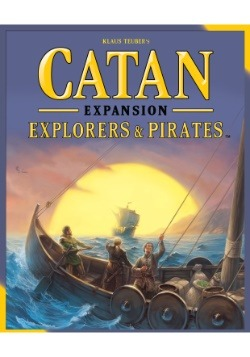 Catan: Explorers and Pirates Board Game Expansion