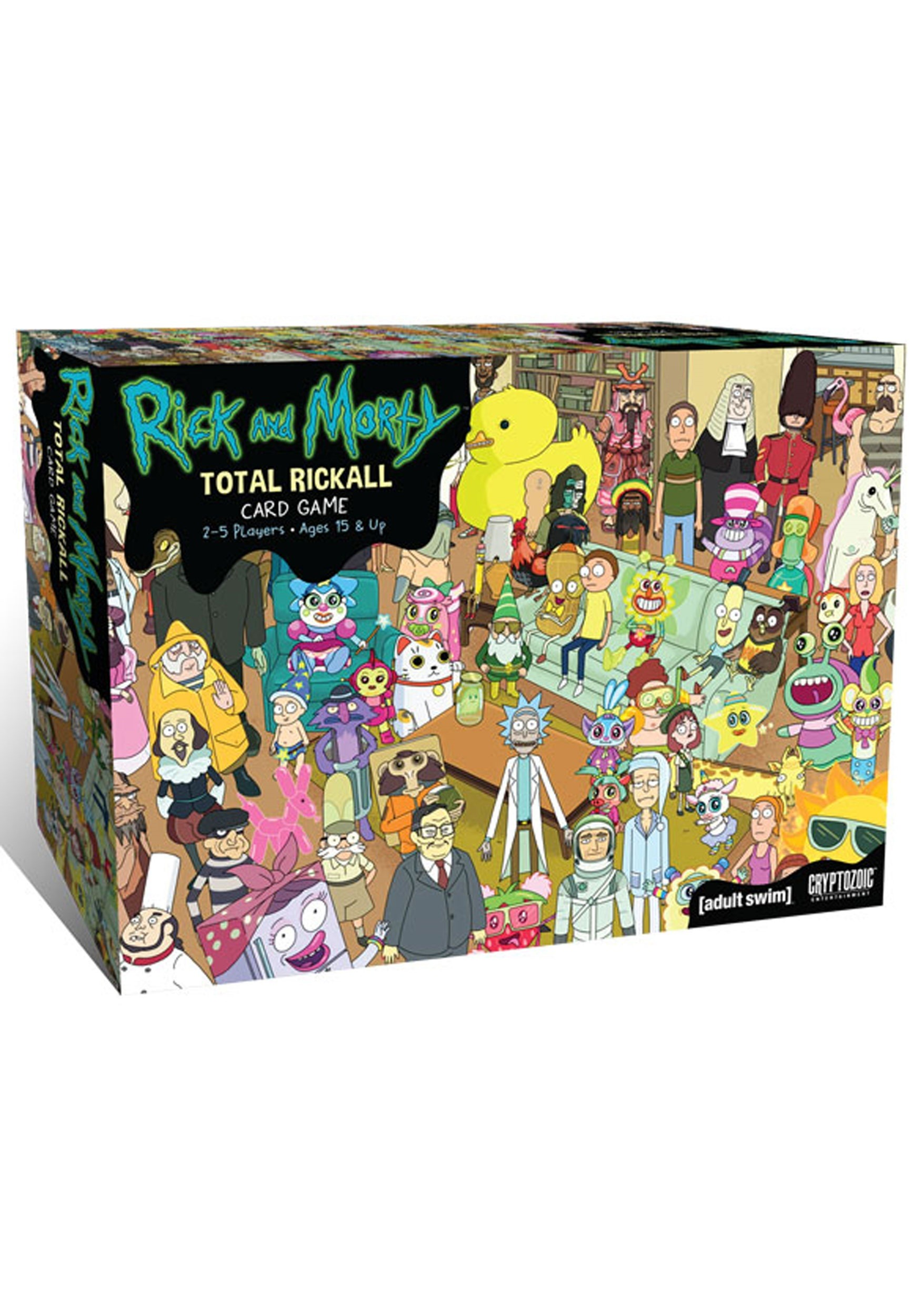 Total_Rickall_Cooperative_Card_Game:_Rick_and_Morty