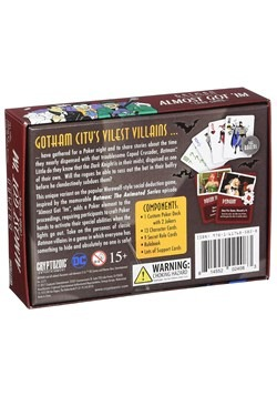 Batman the Animated Series: Almost Got 'Im Card Game