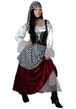 Deluxe Pirate Wench Plus Size Women's Costume