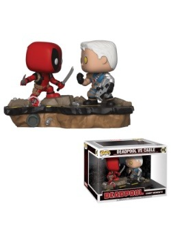 Pop! Marvel: Comic Moments- Deadpool vs. Cable