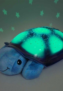 Cloud B Twilight Turtle Blue Nightlight Alt2