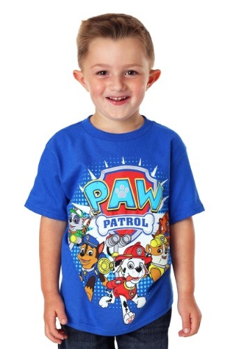 Paw Patrol Group Shot Boy's T-Shirt