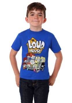 The Loud House Characters Boy's T-Shirt2