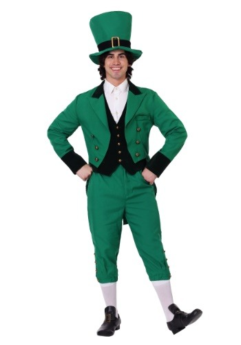 Men's Leprechaun Plus Size Costume