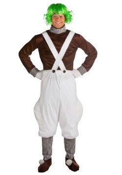 Oompa Loompa Plus Size Mens Costume