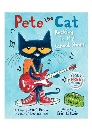 Hardcover book Pete the Cat: Rocking in My School Shoes
