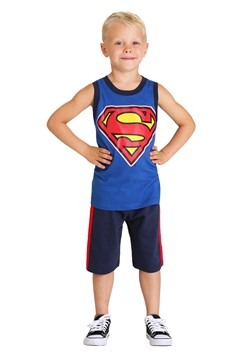 Boy's Superman Up Up And Away 3 Piece Set