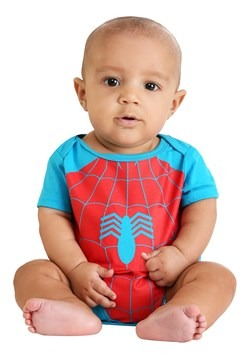 Infant Marvel Spider-Man and Incredible Hulk Onesies