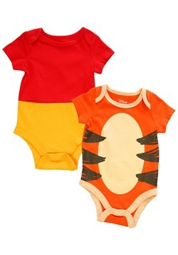 Infant 2 Pack Winnie The Pooh and Tigger Creeper Onesie Set