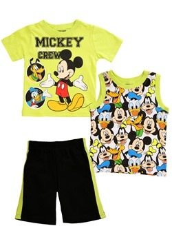 Toddler Mickey Mouse And The Crew 3 Piece Set