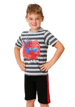 Toddler Spider-Man Web Head 3 Piece Set