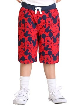 Mickey Mouse Faces Toddler Boys Shorts 2-Pack