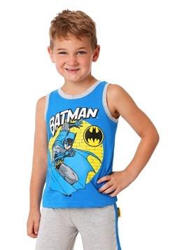 Toddler Boys 3PC Batman Shirt, Tank and Jersey Short Set