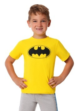Toddler Boys 3PC Batman Shirt, Tank and Jersey Short Set2