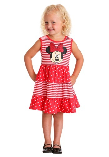 Minnie Stripe Dot Dress