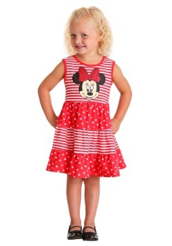 Minnie Stripe Dot Dress