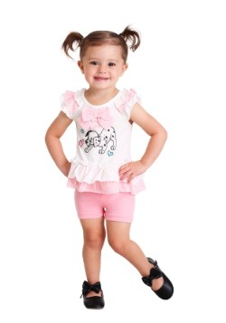 101 Dalmatians Little Bundle of Joy Top & Short Set