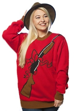 X-Mas Rebellin' Rifle Ugly Christmas Sweater