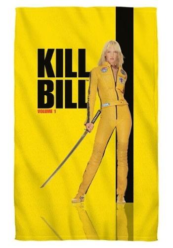 Poster Bath Towel Kill Bill Volume 1