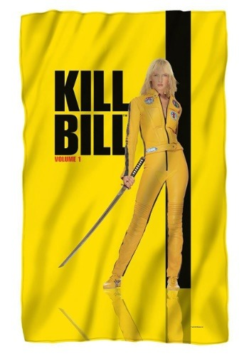 Kill Bill Poster Lightweight Fleece Blanket