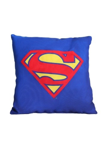 "Superman Logo 14"" x 14"" Throw Pillow"