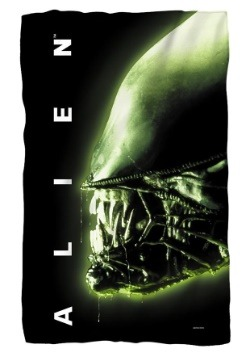 Alien Lightweight Fleece Blanket