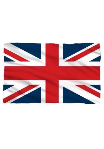 United Kingdom Flag Lightweight Fleece Blanket