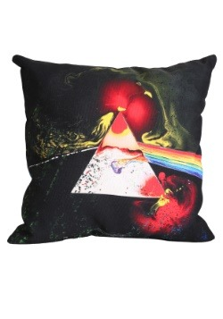 """Pink Floyd Dark Side of the Moon 14"""" x 14"""" Throw Pillow"""