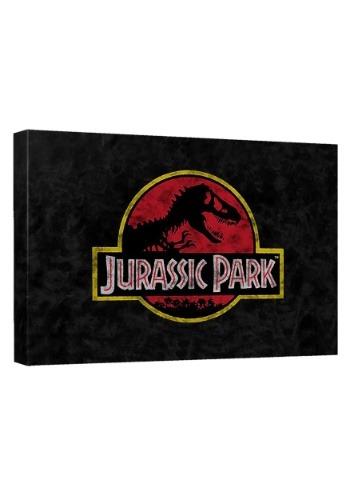 Jurassic Park Classic Logo Canvas Wall Décor