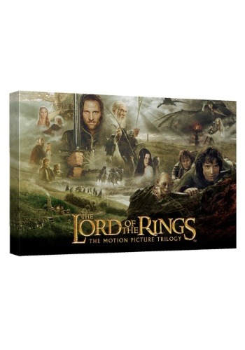 Canvas Wall Décor Lord of the Rings Trilogy