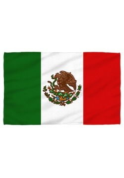 Mexico Flag Bath Towel