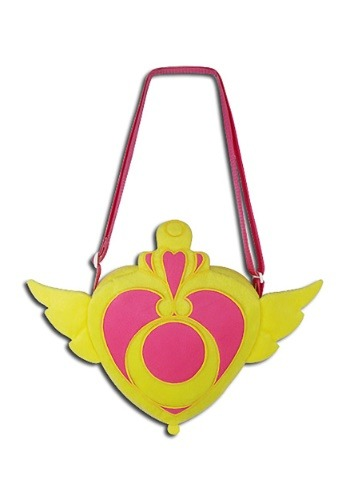 Sailor Moon Crisis Moon Compact Plush Bag