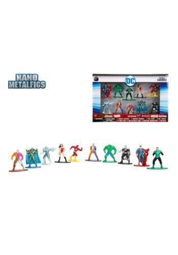 DC Comics Nano Metal Figures 10-Pack