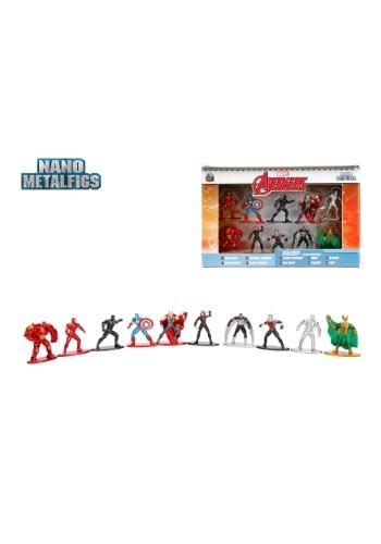 Marvel Comics Nano Metal Figures 10-Pack