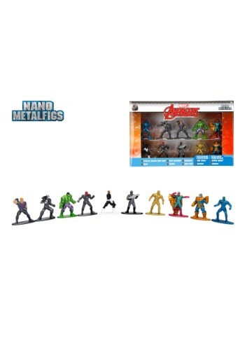 Marvel Comics Nano Metal Figures Series 2 10-Pack