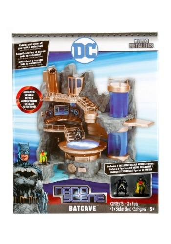 Batman Nano Metal Figures Batcave