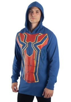 Men's Iron Spider Cosplay Light Weight Hoodie2