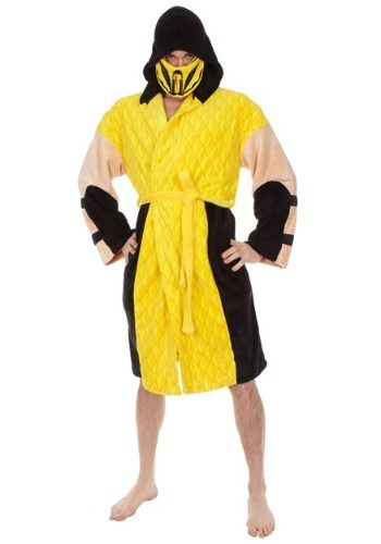 Mortal Combat Scorpion Hooded Robe