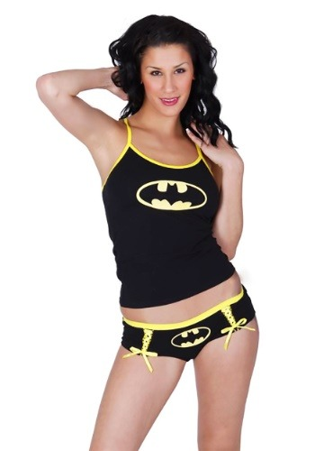 Batman Glow Cami and Short Sleep Set