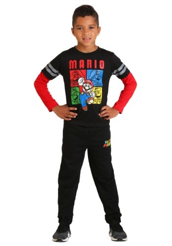 Super Mario Boy's Loungewear Set