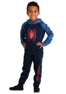 Boys Spider-Man Hoodie Sweatshirt and Pants Set
