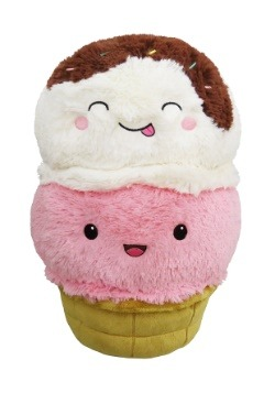 "Squishable Ice Cream Cone 15"" Plush"
