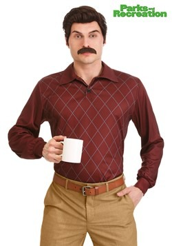 Ron Swanson Parks and Rec Costume