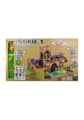 Stickbot Studio Castle Movie Set