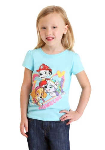 Toddler Girl's Paw Patrol Pawsome T-Shirt