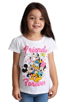 Toddler Minnie Mouse and Friends Girl's T-Shirt