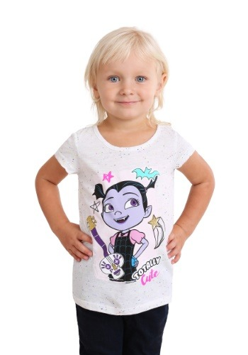 Girl's Toddler Totally Cute Vampirina T-Shirt