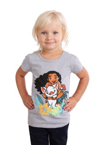Moana and Pua Girl's Toddler T-Shirt