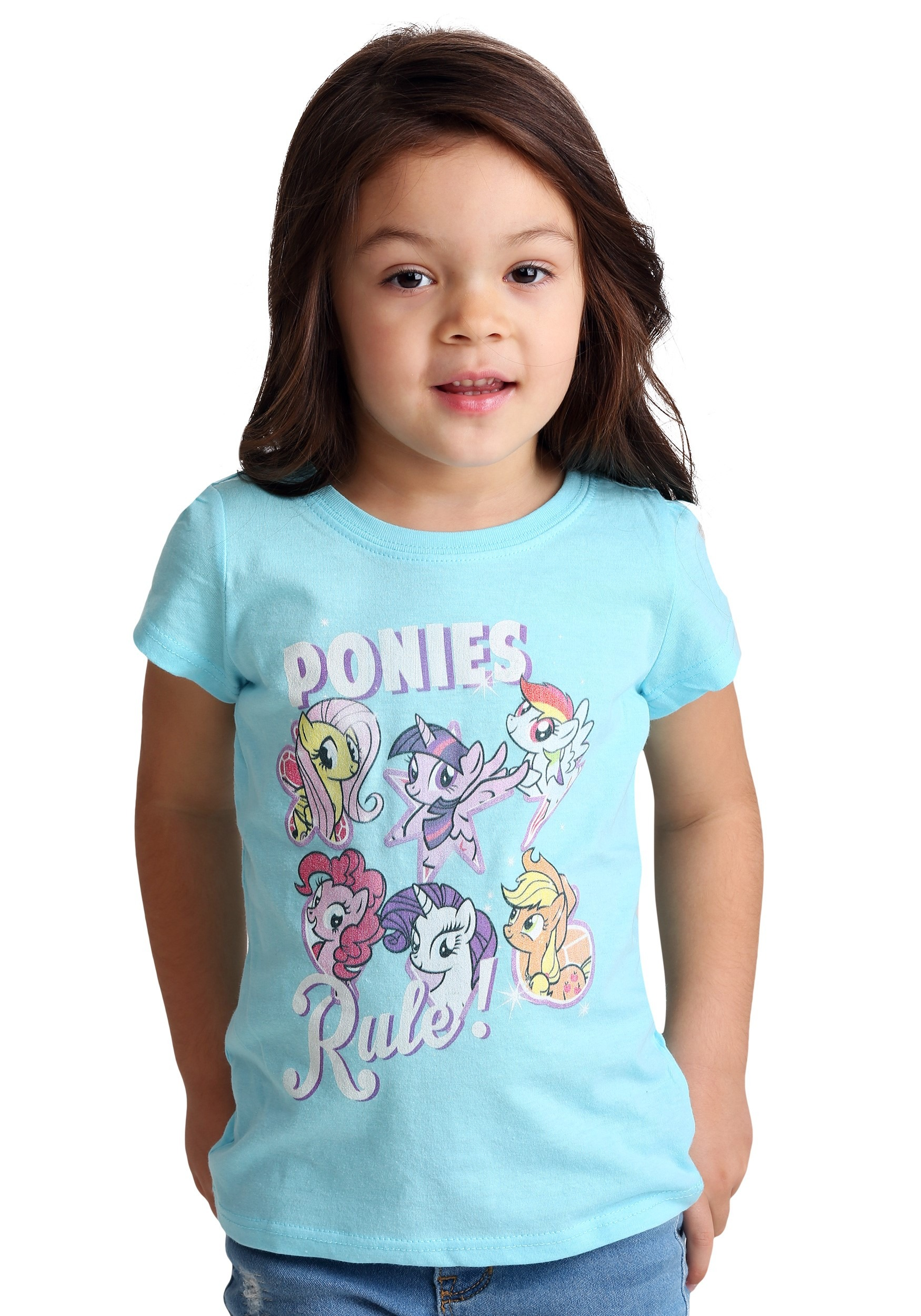 4e602d2c44 Toddler Girl's My Little Pony Ponies Rule T-Shirt